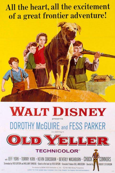 Blu Ray Review Walt Disney S Old Yeller Movie Mania Madness
