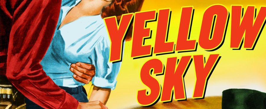 Yellow Sky, Gregory Peck, Anne Baxter