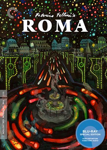 Fellini Roma, Roma Blu-ray review, Roma Criterion