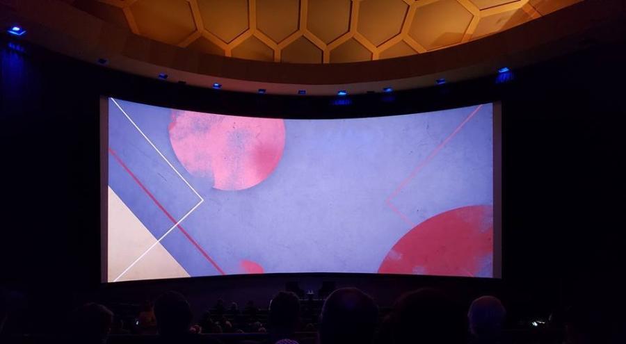 cinerama screen